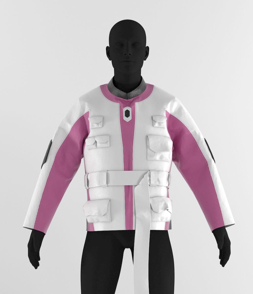 Decrypt racer jacket