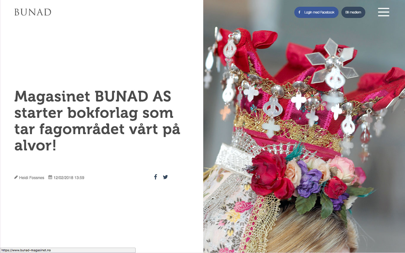 Subscription Magazine: Bunad Magasinet