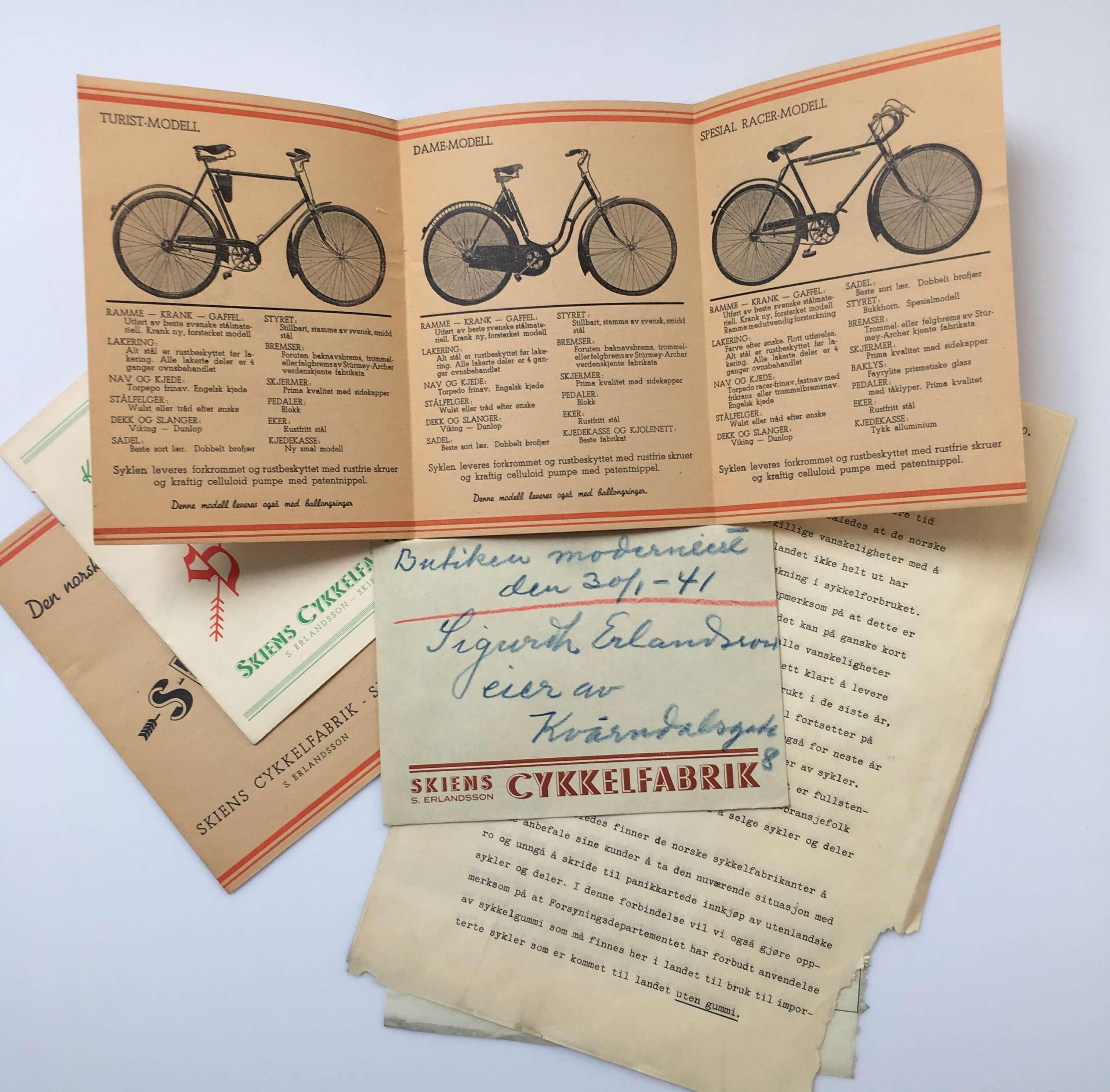 Handmade bicycles since 1926 | Skiens Cykelfabrikk
