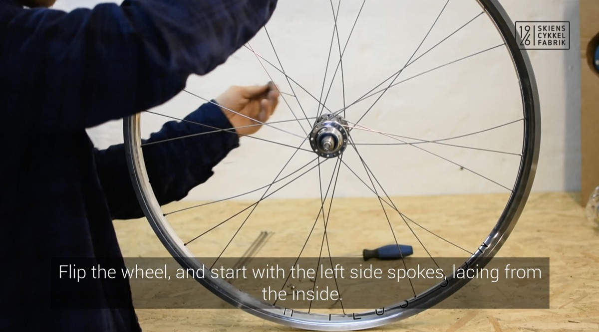 How to build a bicycle wheel