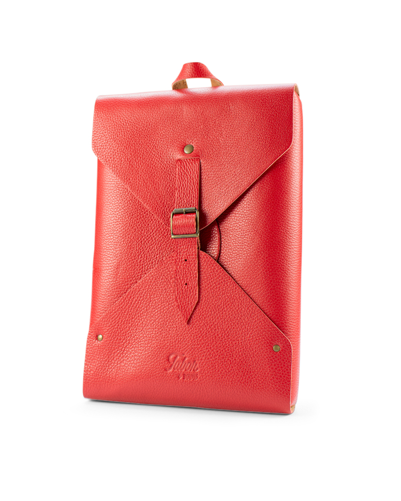 Envelope Leather Backpack