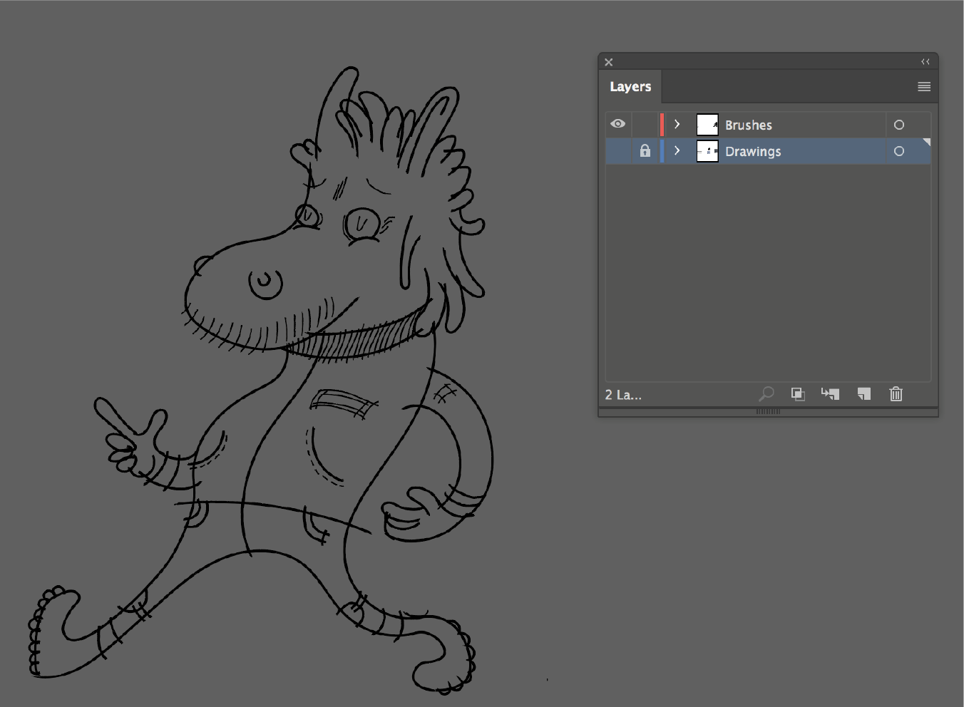 How To Smooth Drawing Lines In Illustrator : Creating a character illustration in illustrator cc with hand